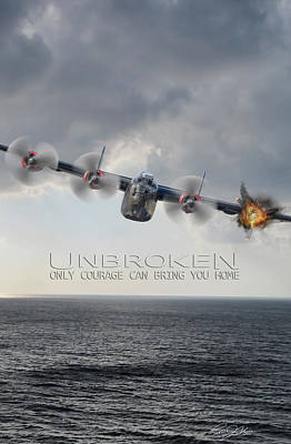 Unbroken V2 Poster by Peter Chilelli