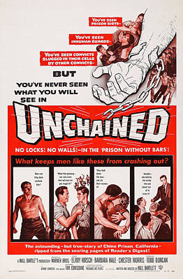 Unchained, Us Poster Art, 1955 Poster