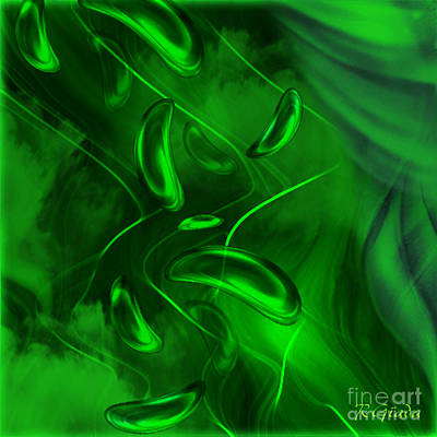 Poster featuring the digital art Unconditional Love - Abstract Art By Giada Rossi by Giada Rossi