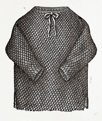 Under Jacket, 19th Century Fashion Poster