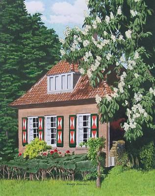 Under The Chestnut Tree Poster by Constance Drescher