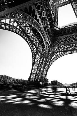 Under The Eiffel Tower Poster by Ivan Vukelic
