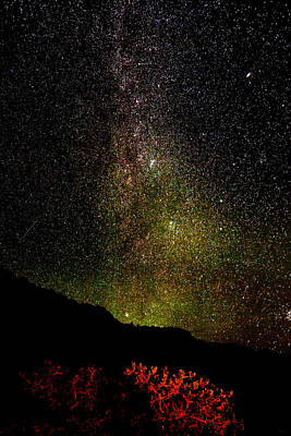 Poster featuring the photograph Under The Milky Way by Greg Norrell