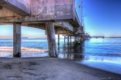 Under The Pier Poster by Heidi Smith