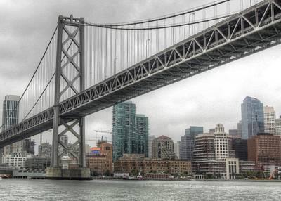 Under The San Francisco Bay Bridge Poster