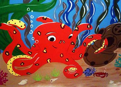 Under The Sea Poster by Tami Dalton