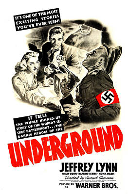 Underground, Us Poster, From Left Poster by Everett