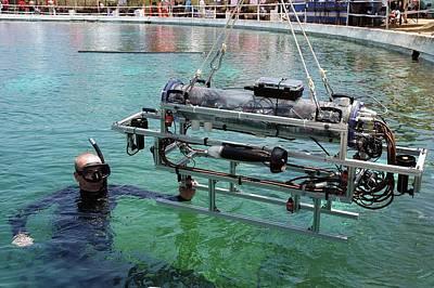 Underwater Autonomous Robot Poster by Us Air Force/ron Kuzlik