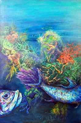 Jesus Reef  Poster by Ashley Kujan