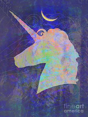 Unicorn Dreams Poster by Robert Ball