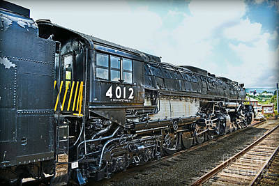 Union Pacific Big Boy No. 4012 Poster by Gary Keesler