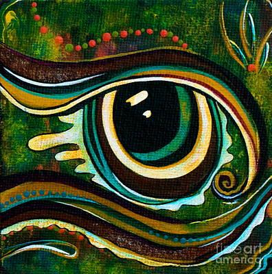 Unique Spirit Eye Poster by Deborha Kerr