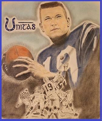 Unitas Poster by Michael McGrath