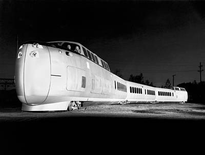 United Aircraft Turbotrain Poster by Underwood Archives