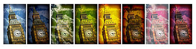 United Colors Of Big Ben Poster by Stephen Stookey