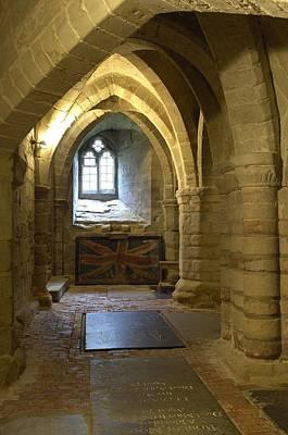 United Kingdom. England. Warwick. Crypt Poster by Everett