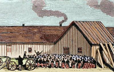 United States Kansas Mennonite Poster by Prisma Archivo