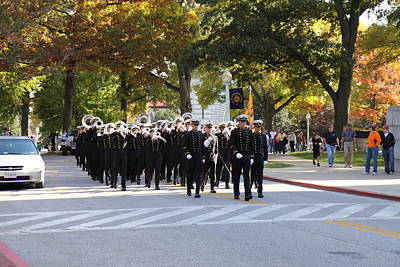 United States Naval Academy In Annapolis Md - 121242 Poster by DC Photographer