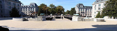 United States Naval Academy In Annapolis Md - 121278 Poster by DC Photographer