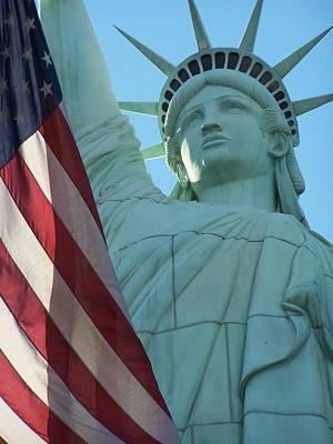 United States Of America Poster by Jewels Blake Hamrick