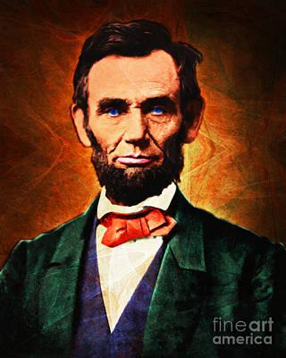 United States President Abraham Lincoln 20140914 Poster