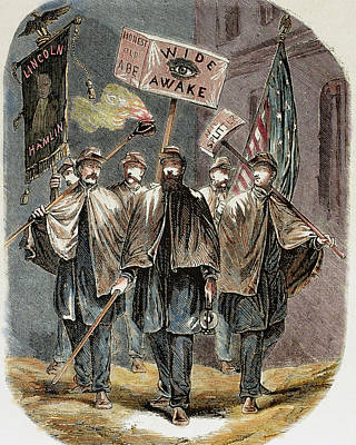 United States Supporters Of Abraham Poster