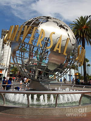 Universal Studios Hollywood California 5d28468 Poster by Wingsdomain Art and Photography