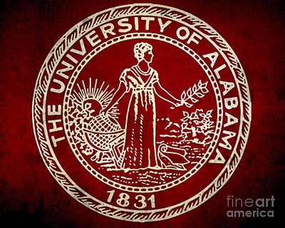 University Of Alabama Poster by Scott Karan