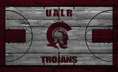 University Of Arkansas At Little Rock Trojans Poster by Joe Hamilton