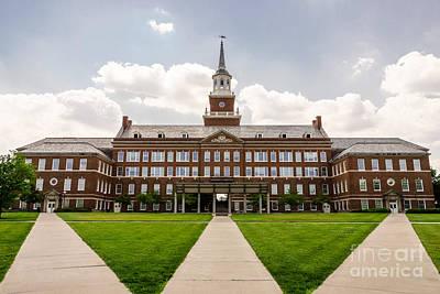 University Of Cincinnati Mcmicken College Hall Poster by Paul Velgos