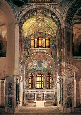 Unknown Artist, Basilica Of San Vitale Poster