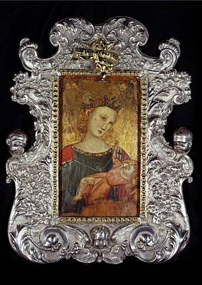 Unknown Artist, Madonna And Child, 14th Poster by Everett