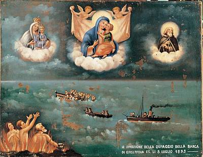 Unknown, Ex-voto. The Storm, 1895, 19th Poster