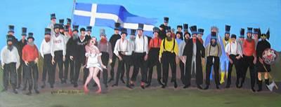 Unst Mail Voice Choir World Tour Poster