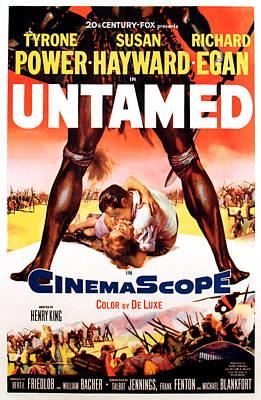 Untamed, Us Poster Art, 1955.  Tm & Poster