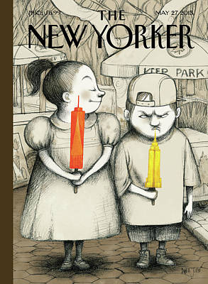 New Yorker May 27th, 2013 Poster by Ana Juan