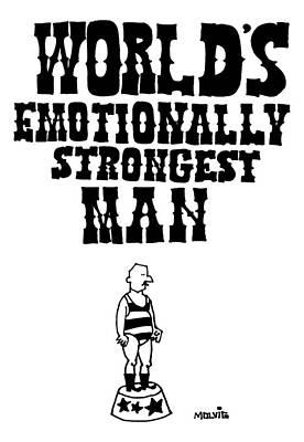 World's Emotionally Strongest Man Poster