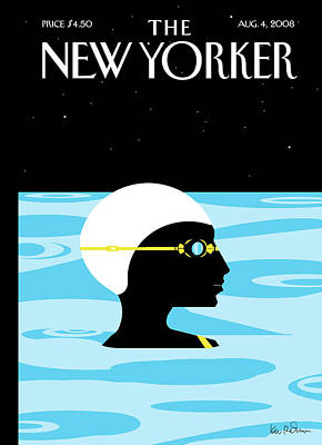 New Yorker August 4th, 2008 Poster by Kim DeMarco