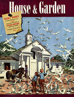 House & Garden August 1st, 1939 Poster