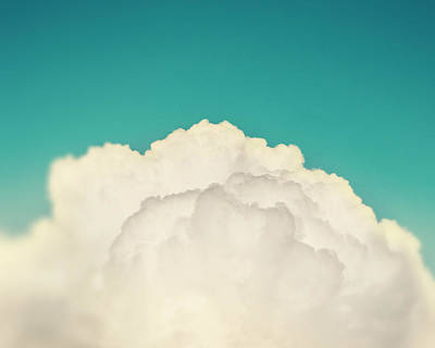 Up Above The Clouds Poster by Amy Tyler