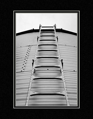 Up The Silo We Go Poster by Charles Feagans