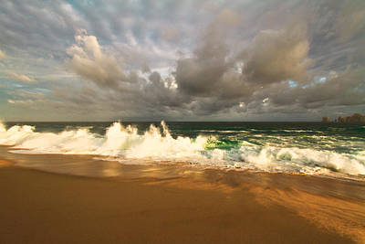 Poster featuring the photograph Upcoming Tropical Storm by Eti Reid
