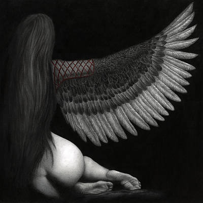 Upon Ashen Wings Poster by Pat Erickson
