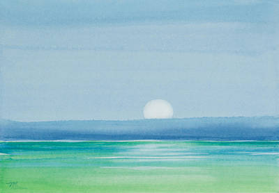 Upper Matecumbe Moonrise Poster by Michelle Wiarda