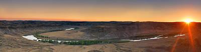 Upper Missouri Panoramic Poster