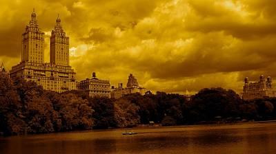 Upper West Side And Central Park Poster