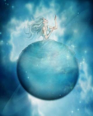 Uranus Poster by Mary Hood