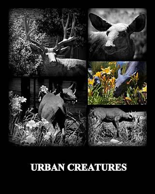 Urban Creatures Poster by AJ  Schibig