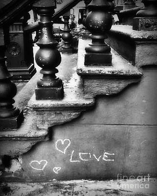 Urban Love Poster by Miriam Danar