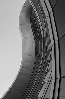 Poster featuring the photograph Urban Work - Abstract Architecture by Steven Milner